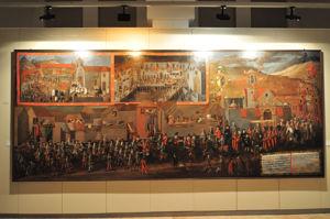 Museo de América, Entrada del Arzobispo Virrey Morcillo en Potosí