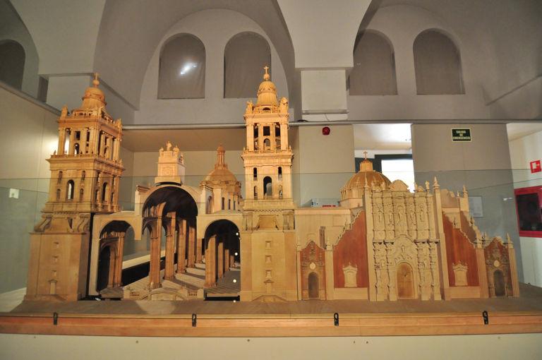 Museo de América, Maqueta de la Catedral de México
