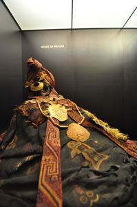 Museo de América, Momia de Paracas
