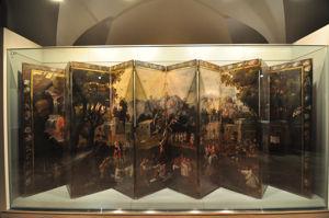 Museo de América, Biombo de los festejos del Pulque