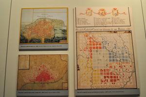 Museo de América, Plano de ciudades coloniales