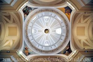 Museo de Historia de Madrid, Crucero y cúpula de la capilla