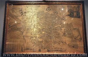"""Museo de Historia de Madrid, Reproducción facsímil de la """"Topographia de la Villa de Madrid"""", o """"Plano de Texeira"""", de Pedro de Texeira. Año 1881"""