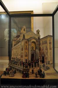 """Museo de Historia de Madrid, Proyecto-boceto de las """"Gradas de San Felipe"""", de Luis Buendía"""