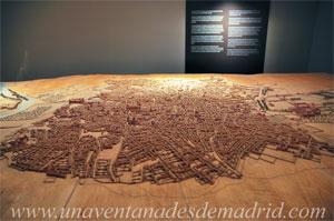 Museo de Historia de Madrid, Maqueta de Madrid, de Juan de Dios Hernández y Jesús Rey. Año 2000