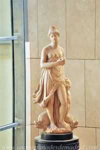 Museo de Historia de Madrid, Réplica en resina de la figura de la Mariblanca
