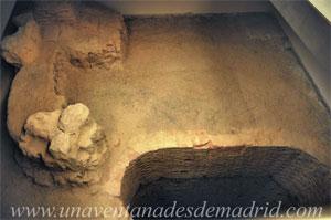 Museo de Historia de Madrid, Restos de un antiguo sistema hidráulico, compuesto por una noria y un brocal