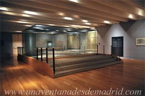 Museo de Historia de Madrid, Planta -1: Cartografía y Maqueta