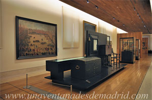 """Museo de Historia de Madrid, Sección """"Babilonia Cosmopolita"""" perteneciente al conjunto expositivo, de la Planta 0, """"Madrid 1562-1700. Villa, corte y capital de dos mundos"""""""