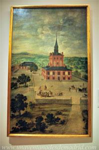 """Museo de Historia de Madrid, """"La Torre de la Parada"""", de Félix Castello, datado de entre 1615 y 1651"""