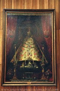 """Museo de Historia de Madrid, """"La Virgen de Atocha"""", de Juan Carreño de Miranda"""