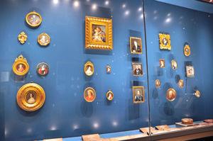 Museo Lázaro Galdiano, Gabinete de Miniaturas, retratos faltriquera