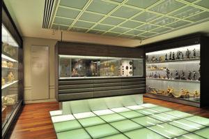 """Museo Lázaro Galdiano, Sala 22: """"Materiales pétreos y terracota. Bronces. Monetario. Medallero"""""""