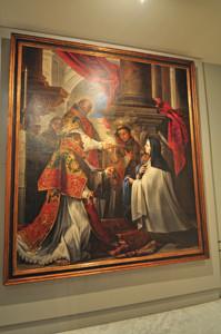 Museo Lázaro Galdiano, Comunión de Santa Teresa