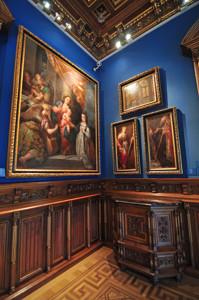 """Museo Lázaro Galdiano, Cuadros """"Los desposorios místicos de Santa Catalina"""", """"Santa Catalina"""", """"San Agustín"""" y """"Las Bodas de Caná"""""""