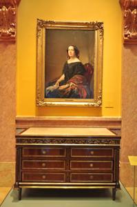 """Museo Lázaro Galdiano, Retrato de """"Gertrudis Gómez de Avelleneda"""""""