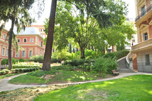 """Museo Lázaro Galdiano, Jardín del Palacio de """"Parque Florido"""""""
