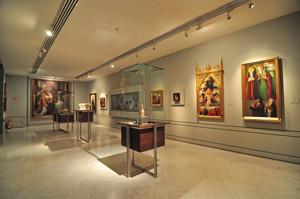 """Museo Lázaro Galdiano, Sala 2: """"Aportación a la historia del arte español"""""""