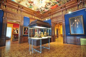 """Museo Lázaro Galdiano, Sala 9: """"La imagen femenina en los siglos XVI y XVII"""""""