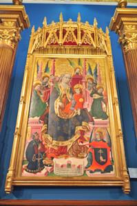 Museo Lázaro Galdiano, Virgen de Mosén Esperandeu de Santa Fe