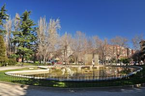 Parque de Berlín, estanque