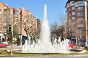 Parque de Berlín, Fuente de la Virgen Guadalupana