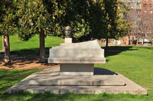 Parque de Berlín, Monumento a Ludwig Van Beethoven