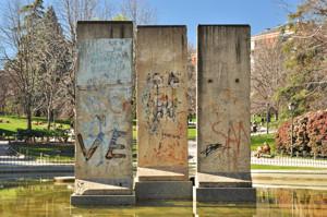 Parque de Berlín, Muro de Berlín