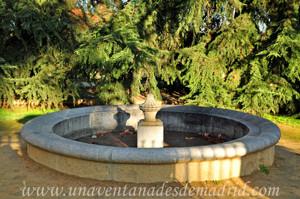 Fuente circular de la Quinta de los Molinos