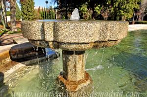 Fuente de granito de la Quinta de los Molinos