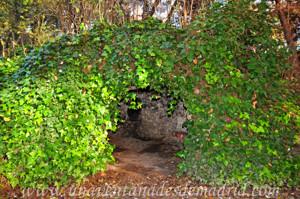 Gruta del lateral Norte de la Quinta de los Molinos