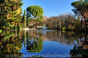 Lago de los Molinos de la Quinta de los Molinos