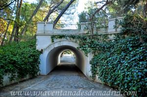 Puente sobre el cauce del arroyo de los Trancos de la Quinta de los Molinos