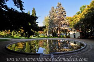 Quinta de la Fuente del Berro, Estanque circular