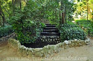 Quinta de la Fuente del Berro, Estanque rústico