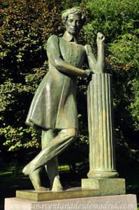 Quinta de la Fuente del Berro, Estatua de Alexandr Pushkin
