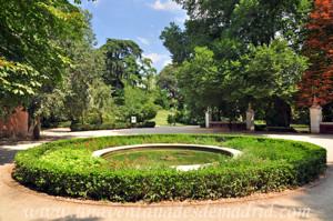 Quinta de la Fuente del Berro, Fuente circular