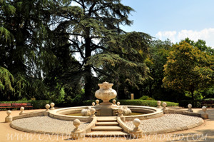 Quinta de la Fuente del Berro, Fuente de la entrada principal