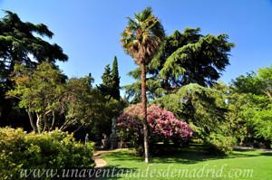 Quinta de la Fuente del Berro, Núcleo del parque junto al Monumento a Bécquer