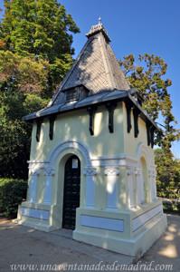 Quinta de la Fuente del Berro, Pabellón con formas del siglo XIX