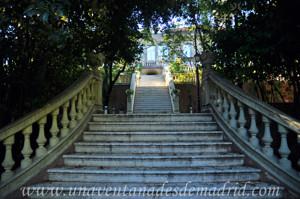 Quinta de la Fuente del Berro, Jardines y Fachada Norte del Palacete