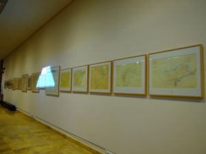 Real Observatorio Astronómico de Madrid, Mapas presentes en la sección de Cartografía