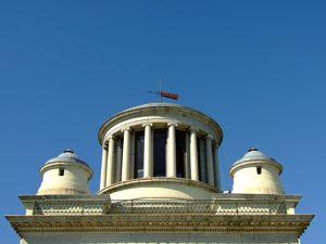 Real Observatorio Astronómico de Madrid, Edificio Villanueva, templete