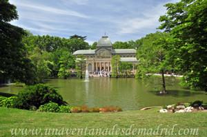 Campo Grande en El Retiro, Estanque del Palacio de Cristal