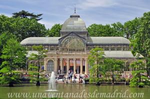 Campo Grande en El Retiro, Palacio de Cristal