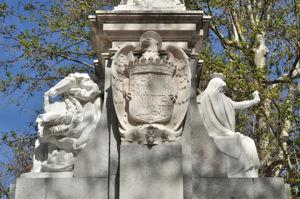 Fuente de Cuba, Escudo de los Reyes Católicos