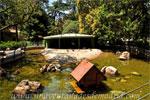 Parque del Retiro, Estanque circular de la antigua Casa de Fieras