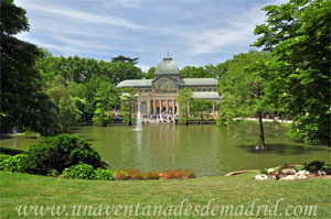 Parque del Retiro, Estanque del Palacio de Cristal