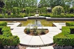Parque del Retiro, Estanque Central de los Jardines de la Rosaleda