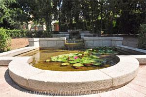 Parque del Retiro, Estanques en cascada de los Jardines de Cecilio Rodríguez